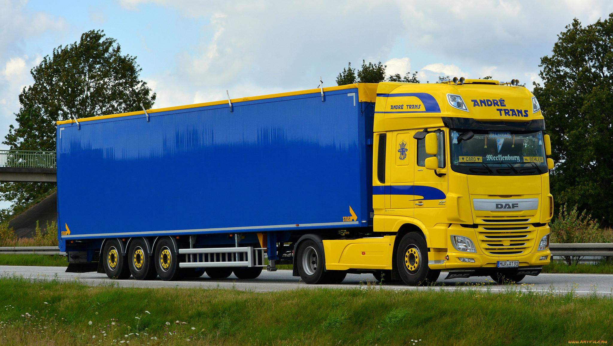 Фото грузовых автомобилей даф
